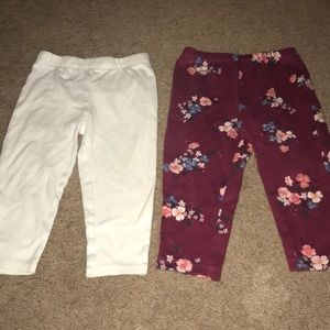 Bundle of girls leggings